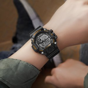 WLISTH casual sports special forces tactical watch men's multi-function digital watch