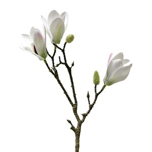 60cm Yulan Magnolia Floriculture Party Romantic Lifelike Magnolia Holding Flowers Cloth Unique Home Decoration