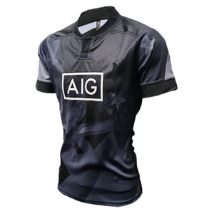 2020 Black Ferns Sevens Home Jersey RUGBY JERSEY Size S--5XL Print custom name and number The quality is perfect