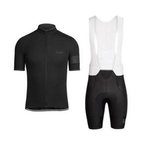 Nuovo Rapha Summer Mens Manica corta in bicicletta Jersey Bike Wear Vestiti Bib Set MTB Uniform Uniform Pro Abbigliamento da ciclismo Bicicletta Maillot LZFBoss4