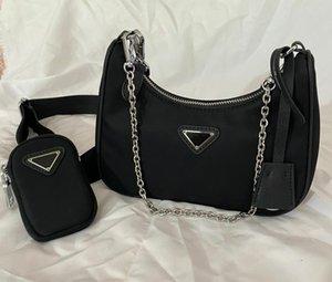 Kadınların Göğüs paketi bayan Bez zincirleri çanta presbiyopik çanta messenger çanta luxurys tasarımcıların çanta Naylon torbalar için çanta omuz çantası