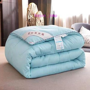 Soft Bedding Comforter Home Textile Twin Full Queen King Size Bed Duvet Fashion Thicken Comforter Duvet Pure Color