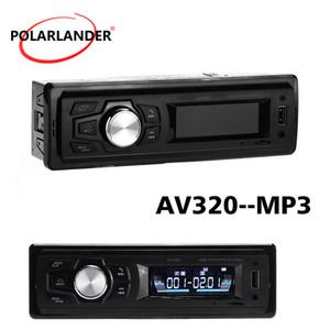 AV320 2.8 inch LCD Screen Car MP3 Player Supports TF card USB U-diskBluetooth connection wireless music call FM Radio