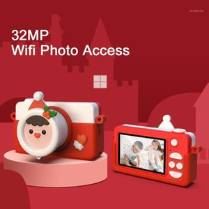 Snowman Baby Kids Digital Camera Mini Toy For Kids Girls Photographic Camera Video Christmas Brithday New Year Gift1