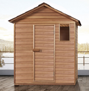 Espace forestier haut de gamme Personnalisé Barre d'oxygène Sauna Chambre Saine Confortable Profitez de Petit Khan Salle de vapeur SH337