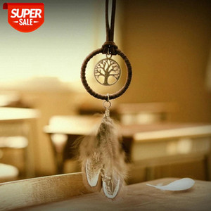 Mini Dreamcatcher Bookmarks New Fashion Handmade Indian Dream Catcher Cafe & Bar & Bag Hanging Pendant Decor Gift 3.5 diameter Ship o #QN2O
