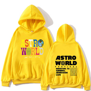 Men and women hoodies sweatshirts TRAVIS SCOTT ASTROWORLD hope you are here HOODIES fashion letters ASTROWORLD HOODIE street tops 2020 new