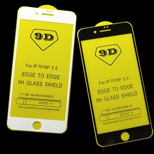 9D Full Glue Full Cover tempered glass Ultra Thin screen protector Clear Film For iPhone X Xr Xs Xs Max 8 7 6