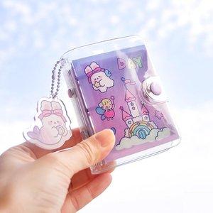 Mohamm Color Page Portable Mignon Mini Mini Loose Libre Diary Kearbooks Creative Office de bureau Fournitures Papeterie Cadeaux
