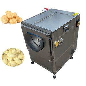 Heißer Verkauf Fischkartoffel Waschen Peeling Machine Rettich Waschen Kassava Karotte Ingwer Peeling Maschine Gemüse Obst Waschen Peeling MA