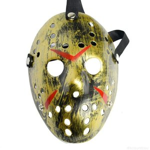 Mask 6 Style Jason Full Face Cosplay Masquerade Masks Jason vs Friday Horror Hockey Halloween Costume Scary Mask Festival Pa