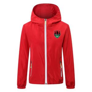 2020 2021 Cork City FC soccer jacket zipper Hooded Windbreaker jackets winter soccer hoodie Windproof Waterproof jacket coat Running Jackets
