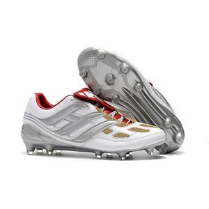 2019 Mens Tacos de fútbol Predator Acelerador DB TF IC FG zapatos del fútbol de interior Predator 18 Tango precisión Botas de fútbol Botas De Futbol calientes