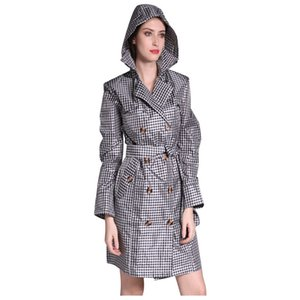 Women's waterproof robe; coat, poncho, poncho, raincoat, coat
