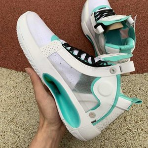 New Arrival Fashion Men Paris Game 34 White Basketball Running Shoes Mens Outdoor Sports Sneakers Platform Trainers 7-12