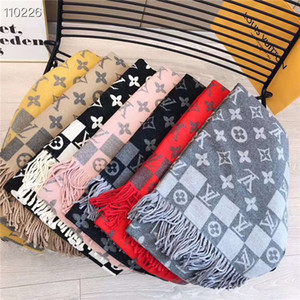 The latest European and American fashion designer elements free delivery 2020 cashmere scarf women's fashion high-quality scarf35*180cm