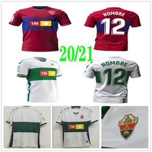 2020 2021 CF Elche Soccer Jerseys Qasmi Nino Lolo Ivan Sanchez S. Kaba Dani Calvo Ramon Folch Ferriz Custom 20 21 Home Away Football Shirt