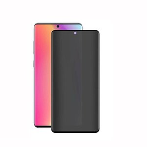 5D Privacy Curved Edge Tempered Glass Screen Protector For Samsung Galaxy S20 Ultra S10 S9 S8 Note10 Plus Note8 note9