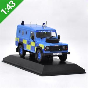 1:43 Defender Polis SUV Alaşım Diecast Araba Model Oyuncaklar Metal Model Araçlar Orijinal Kutusu X0102