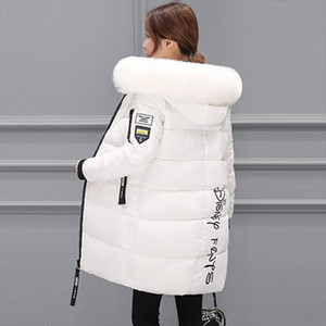 Parka Women Winter Coats Long Cotton Casual Fur Hooded Jackets Women Thick Warm Winter Parkas Female Overcoat Coat 2020 New