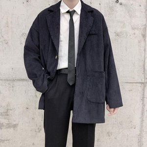 2020 Autumn and Winter New Youth Popular Popular Popular versione coreana di Solid Color Slosed Single-Breasted Suit Suit Fashion Casual Top1