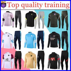 une nouvelle formation de Survêtement mens de survêtement de football de football costume 2020 2021adult le football Survêtement survetement pied chandal tuta le jogging
