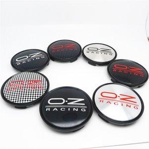 4 шт. 63 мм Колесные Center Caps Caps для OZ Racing WRC RIMS HUBS Обложка замена M595 Эмблема автомобилей emblem 57mm Black