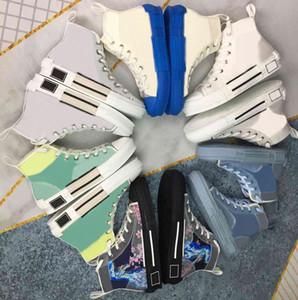 Nuovo Arrivo Canvas Shoes Limited Edition Lovers Stampato Sneakers Versatile Scarpa in tela alta alta con scatola di scarpe da imballaggio originale taglia35-46