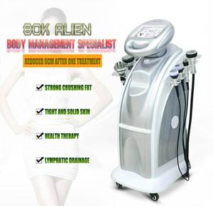 2020 80K + 40K Cavitazione ad ultrasuoni Aspirazione a ultrasuoni Vuoto Multipolare Body Face RF Frozen Ultrasonic Wave Beauty Slimming Machine