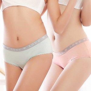 ZJX Donne 95% Cotone Bella ragazza Briefs Plus Sizexxl Underwear 7Colors Seamless Sexy Panties Donne all'ingrosso