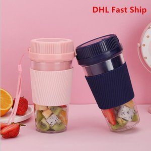 350ml 7.4V Portable Blender Juicer Cup USB Rechargeable Electric Automatic Smoothie Vegetable Fruit Orange Juice Maker Cup Mixer Bottle