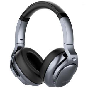 Cowin E9 النشط إلغاء الضوضاء سماعات سماعات بلوتوث اللاسلكية على الأذن مع ميكروفون APT-X HD Sound ANC1