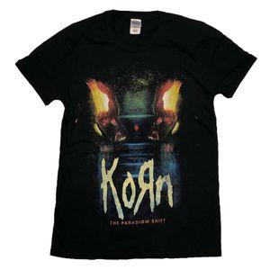 KORN PARADIGME OFFICIEL AUSTRALIEN 2014 TOUR T-SHIRT METAL BAND