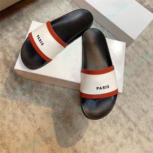 Moda de alta calidad para mujer deportes de goma sandalias de caucho para hombres zapatillas zapatos interior Tamaño 36-45 con caja