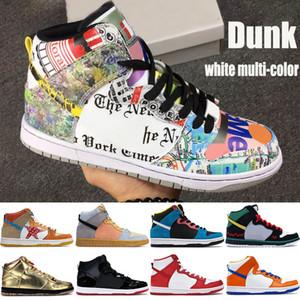 Top Высокие ботинки Jumpman мужские баскетбольные, что замочить Спектр белого многоцветные разводили Mcrad барокко Браун мужчин, женщин Базука кроссовки инструкторов