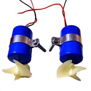 RC Jet Tekne Sualtı Motor Fuarı 7.4 V 16800 RPM CW CCW 3-Blades Pervane DIY Mikro Rov Robot RC Yem Tekne Bölümü Için