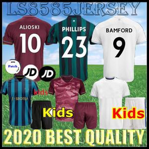 Çocuk Kiti Birleşik 20 21 Hasselbaink Üçüncü Futbol Forması Bamford Clarkesmith Kewell Hopkin Hernandez 2020 2021 Yetişkin Seti Uzakta Futbol Gömlek