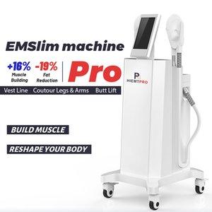 2020 NOUVEAU EMS Muscle Stimulateur de muscle Machine Hiemt Muscle Building Machines de suppression de la graisse EMS HIFEM Pro Minceur Body Contouring Perte de poids