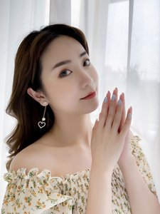earrings designer Stud tassel Long Suitable for Social gathering party Charm Ear jewelry Love Pearl ear-rings fashion Christmas presen
