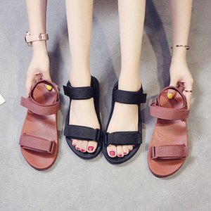 2020 Summer Sandals Shoes Beaches Beautiful Shoes Sandals Summer Light Women Shallow Mouth Womens Female YxiY#