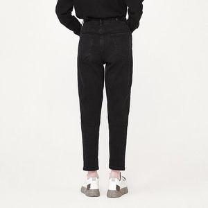 Semir Kot Kadınlar Sonbahar Siyah Ince Rahat Pantolon 2020 Yeni Gevşek Kırpılmış Pantolon Moda Kadın1