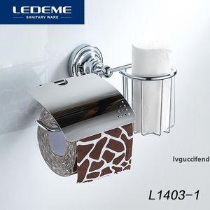 LEDEME 욕실 롤 화장지 홀더 스테인레스 스틸 선반 L1403-1 T200425