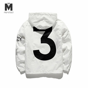 Dropshipping New 2019 Vente chaude Kanye West Y3 Saison 3 Windbreaker Hommes Femmes Veste Hip Hop Fashion Outwear x0923 x0923