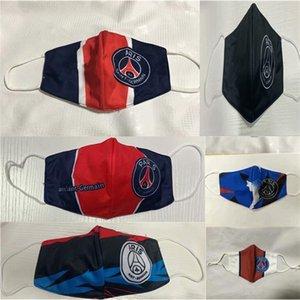 UPTGDPARIS Club Футбольная маска Хлопок Устойчивое использование Сменные одноразовые маски оптом Футбол Team Club Защищать футбол S