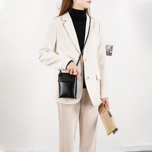 MABULA Moda Celular Crossbody Bolsa para las mujeres Monedero de cuero simple de diseño de diseño de lujo