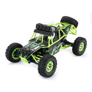 Wltoys 12427 2.4G 1:12 4WD Crawler Remote Control RC Carro com LED Light Dois Battery Buggy Veículo com LED Light 201201