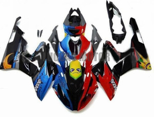 Alta qualità Nuovo ABS Adjection Kowlings Kit Body Kit Blue Bright Red Black per BMW BMW S1000RR 2015-2016 FABRIZZAZIONI S1000 RR 15-16 carrozzeria