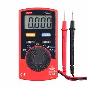 UNI-T UT120C Ultra-portátil rango automático de apagado automático multímetro digital de la capacitancia, resistencia, voltaje CA / CD actual probador del metro de BIDV #