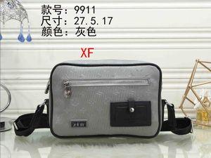 Mens shoulder bags designers messenger bag famous trip bags briefcase crossbody good quality brand 0XF9911
