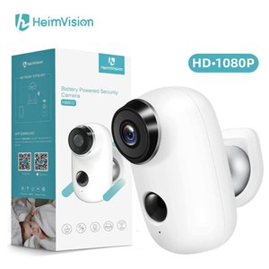 Heimvision HMD2 1080P Wireless Rechargeable Battery IP Camera with Solar Panel Weatherproof Home Security Camera Wifi PIR Motion